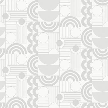 Papel Pintado Semicirculos - ABISKO 03 | MURAKE - 50309