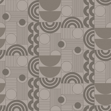Papel Pintado Semicirculos - ABISKO 04 | MURAKE - 50310