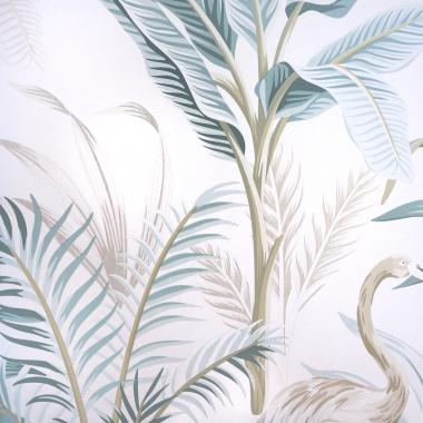 Papel Pintado Hojas Tropicales - GILAO 01   MURAKE - 51121