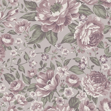 Papel Pintado Rosas grandes - BLOMMOR 04   MURAKE - 64711