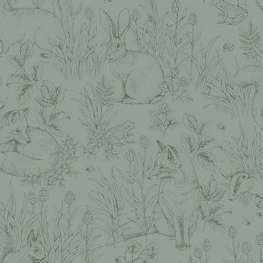 Papel Pintado Animales - DJUR 01   MURAKE - 64716