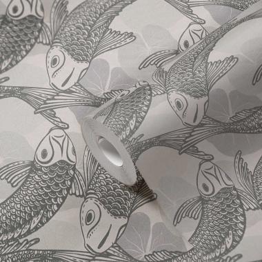 Papel Pintado Peces Koi - MITAKA 01 | MURAKE - 958701