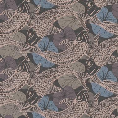 Papel Pintado Peces Koi - MITAKA 03 | MURAKE - 958704