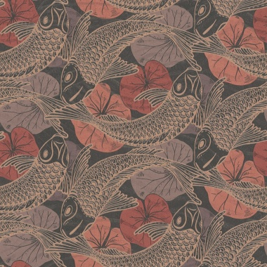Papel Pintado Peces Koi - MITAKA 04 | MURAKE - 958705