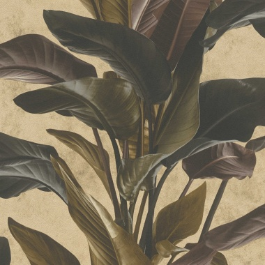Papel Pintado Hojas Grandes - GUALBA 04   MURAKE - 687324