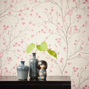 Papel Pintado Flor de cerezo - HAMURA 01 | MURAKE - 907351