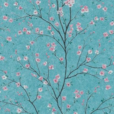 Papel Pintado Flor de cerezo - HAMURA 03 | MURAKE - 907353