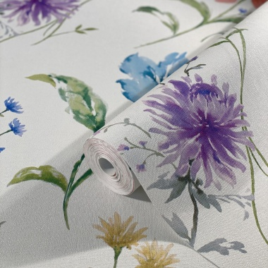 Papel Pintado Floral - SOMES 01 | MURAKE - 44251