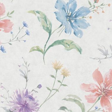 Papel Pintado Floral - SOMES 02 | MURAKE - 44252