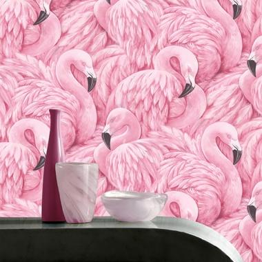 Papel Pintado Flamingos - DIFLAMSK    MURAKE - 98702