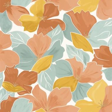 Papel Pintado Flores - OGOS 03 | MURAKE - 15833