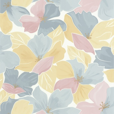 Papel Pintado Flores - OGOS 02 | MURAKE - 15832