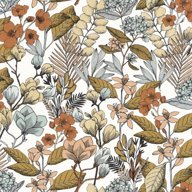 Papel Pintado Flores - MAIJS 06 | MURAKE - 15806