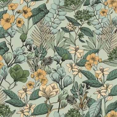 Papel Pintado Flores - MAIJS 05 | MURAKE - 15805