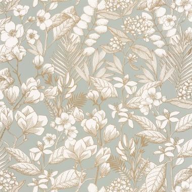 Papel Pintado Flores - MAIJS 04 | MURAKE - 15804