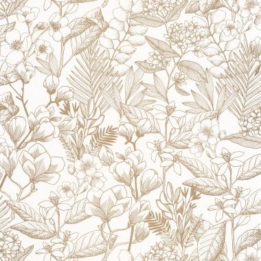 Papel Pintado Flores - MAIJS 02 | MURAKE - 15802