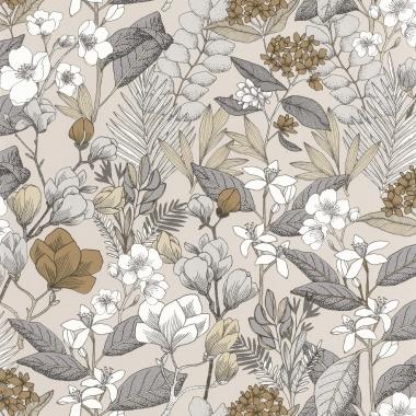 Papel Pintado Flores - MAIJS 01 | MURAKE - 15801