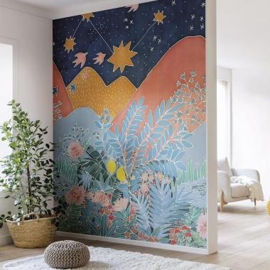 Mural Botánico - KIRIN    MURAKE - 71321