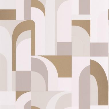 Papel Pintado Laberinto geométrico - CILWAZ 01   MURAKE - 80101