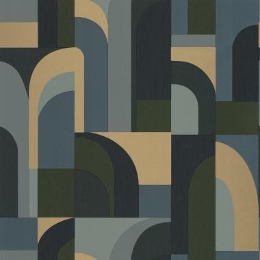 Papel Pintado Laberinto geométrico - CILWAZ 03 | MURAKE - 80103