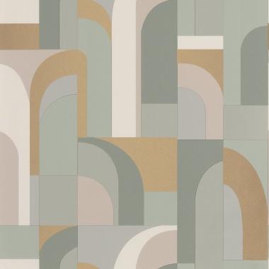 Papel Pintado Laberinto geométrico - CILWAZ 04 | MURAKE - 80104
