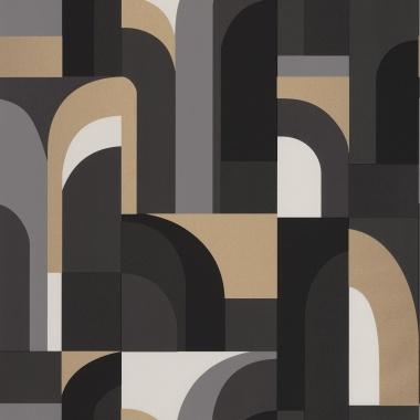 Papel Pintado Laberinto geométrico - CILWAZ 05 | MURAKE - 80105