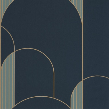 Papel Pintado Arcos gráficos - HEREMI 03 | MURAKE - 80143
