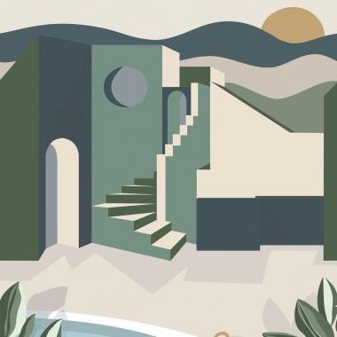 Mural Casa - NOLITH 02   MURAKE - 41402