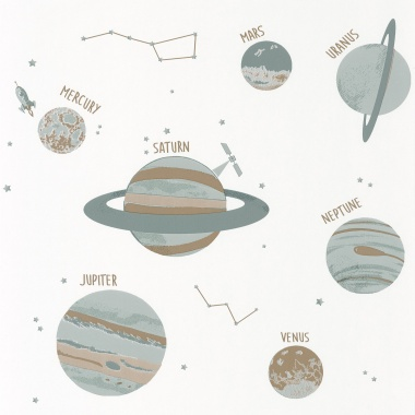Papel Pintado Planetas - OMNE 03   MURAKE - 91013