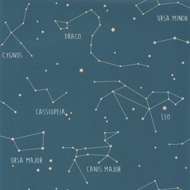 Papel Pintado Constelaciones - ASTRUM 01   MURAKE - 91001