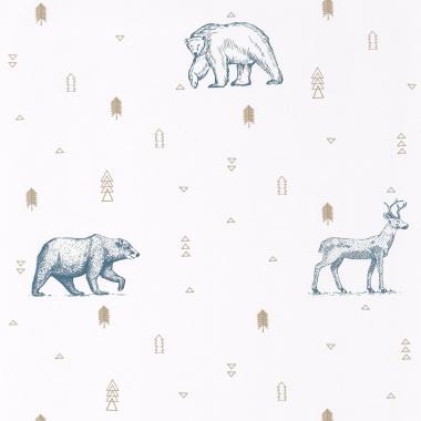Papel Pintado Animales - PERIETE 01   MURAKE - 91331