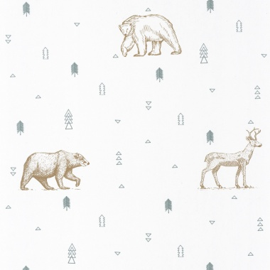 Papel Pintado Animales - PERIETE 02   MURAKE - 91332