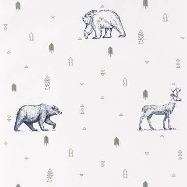 Papel Pintado Animales - PERIETE 03   MURAKE - 91333