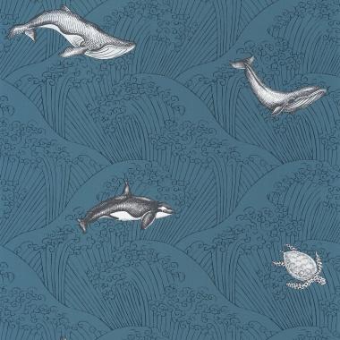Papel Pintado Ballenas - KOHOLA 01   MURAKE - 91371