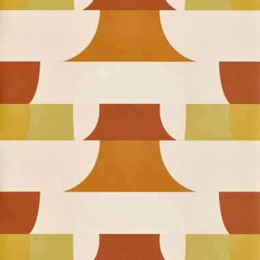 Papel Pintado Geométrico - HUCHETE 01   MURAKE - 15071
