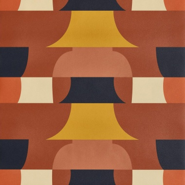 Papel Pintado Geométrico - HUCHETE 02   MURAKE - 15072