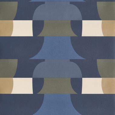 Papel Pintado Geométrico - HUCHETE 03   MURAKE - 15073