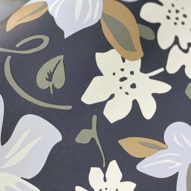 Papel Pintado Flor - MARTY 02 | MURAKE - 72152