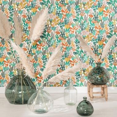 Papel Pintado Plantas - CANNARA 06 | MURAKE - 72006