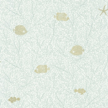 Papel Pintado Peces - DERUTA 02 | MURAKE - 72412