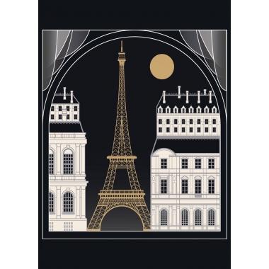 Mural Torre Eiffel - NIMES    MURAKE - 25911