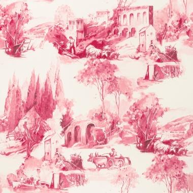 Papel Pintado Toile de Jouy - PAISAT 06   MURAKE - 1806