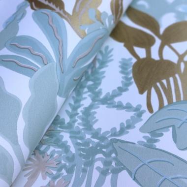 Papel Pintado Plantas - CANNARA 03 | MURAKE - 72003