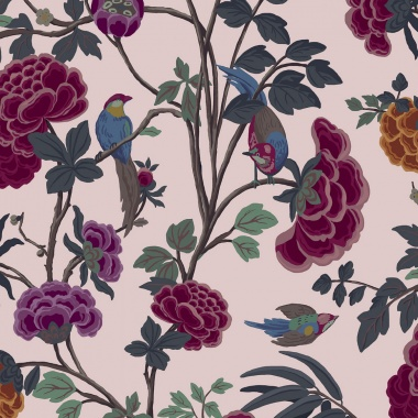 Papel Pintado Flores - THIKA 02 | MURAKE - 42302