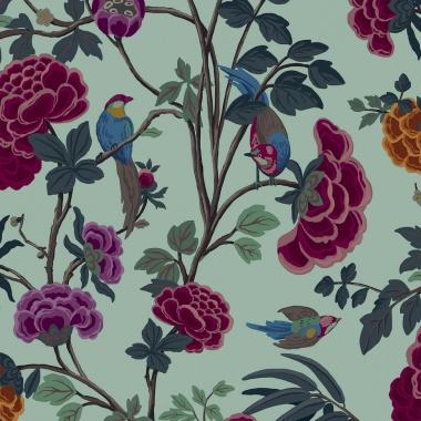 Papel Pintado Flores - THIKA 03 | MURAKE - 42303