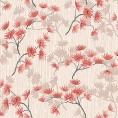 Papel Pintado Floral - GUMARA 01 | MURAKE - 42331