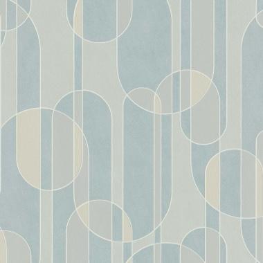 Papel Pintado Semicírculos - BEVER 01 | MURAKE - 530231