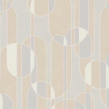Papel Pintado Semicírculos - BEVER 02 | MURAKE - 530232