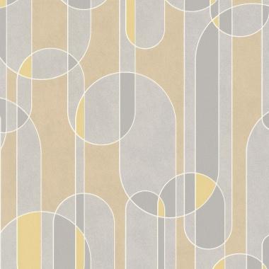 Papel Pintado Semicírculos - BEVER 04 | MURAKE - 530234