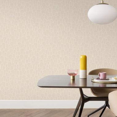 Papel Pintado Semicírculos con textura - WELLIN 01 | MURAKE - 530210
